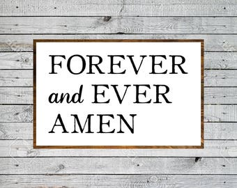 Wall Prayer Sign, Bible Verse SVG, Love You Forever, Magnolia Market Sign, Vector, SVG, Cut File, Print, Fixer Upper Sign, Magnolia Farms