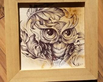Cutie Owl Inktober 2017
