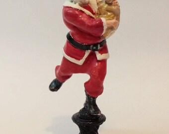 santa claus wiht gifts,hurry up santa