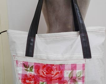 Boat-sail bag, weekend bag, shopper