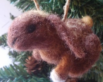 "Needle felted Rabbit ""Harley"""