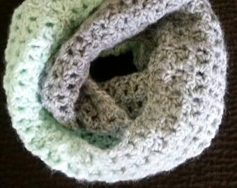 Loopy Love Crochet Infinity Scarf