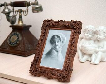 "Wooden photo frame ""Medea"" one window"