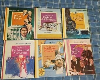 Set of 13 Cornerstones of Freedom children's books