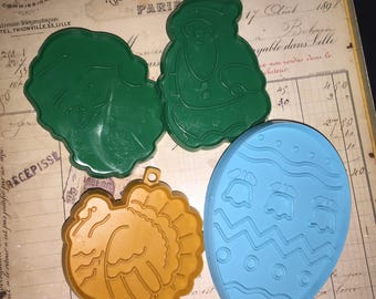 Vintage Hallmark Cards Cookie Cutters