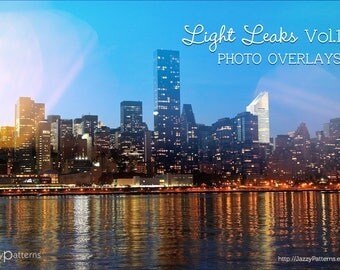 Photo overlays for photographers, cool leaked photos light effects, optically captured images Vol.1 instant download