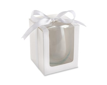 Gift Box for Stemless Wine Glasses