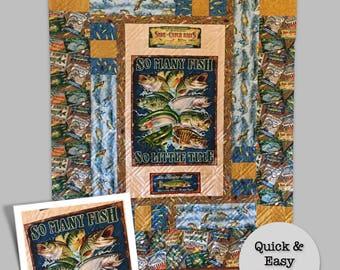 Fishing quilt | Etsy : fishing quilt - Adamdwight.com