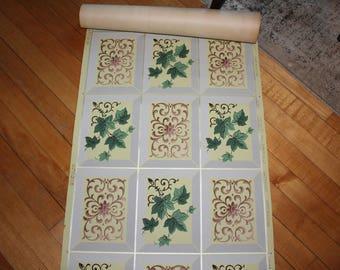 Vintage Wallpaper Roll Joliet Wall Paper Mills 1940s