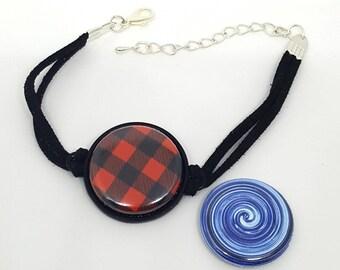 Bijouclic. Interchangeable patterned bracelet