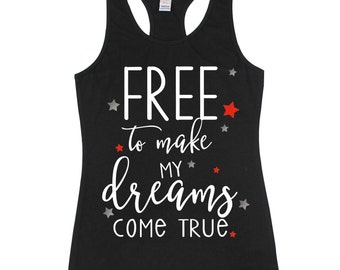 4th of July Tank - Kids Tanktop - Kids Shirt - 4th of July Shirt - Girls Tanktop - Red White and Blue - Fourth of July - Girls Shirt