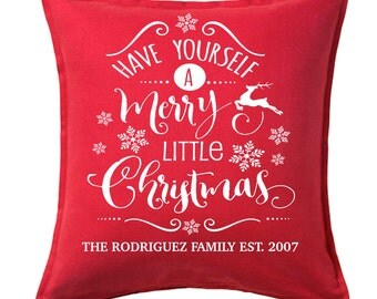 Holiday pillow | Etsy