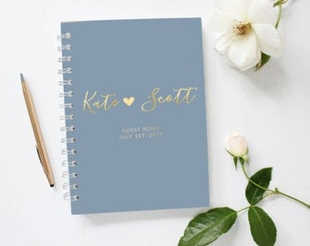 Wedding Album, Wedding Photo Book, Lay Flat Wedding Photobook, Wedding Album Guestbook, Photobooth Guest Book, GB 109