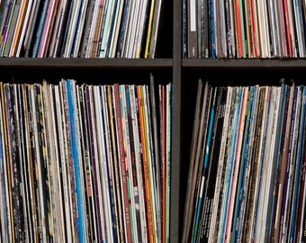 "Vintage 12"" Vinyl Records Lot for arts, crafts, decoration, parties 20"