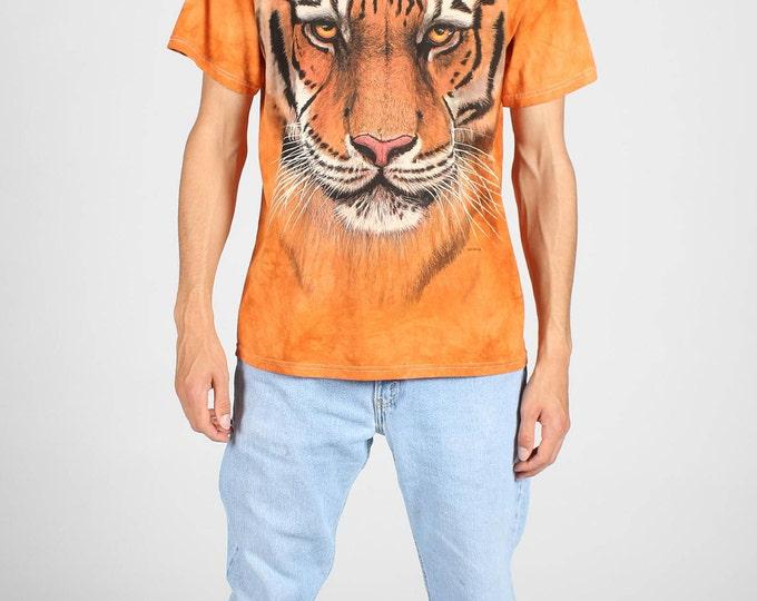 Orange Tiger T Shirt