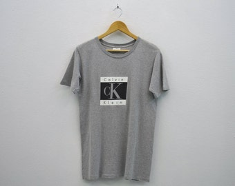 Calvin Klein Vintage T Shirt Made in USA Mens Size S
