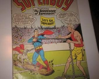 "Superboy ""Featuring the Surender of Superboy""  No. 110"