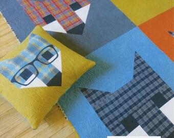 Fancy Fox II - Quilt Pattern by Elizabeth Hartman