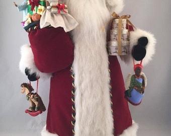 African American Traditional Santa