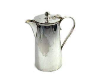 Vintage Mappin and Webb Silver Plated Coffee Pot, Princes Plate Chocolate Pot, Silver Plated Pot,  Plated Teapot, Silver Christmas Table Top