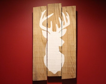 Reclaimed Pallet Wood Buck Sign