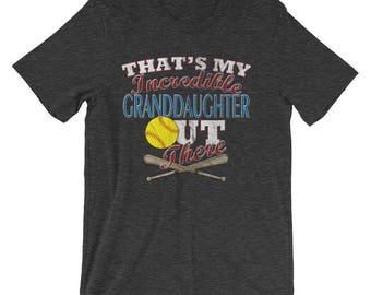 Softball Grandma T shirts-Softball Grandpa T shirts-Softball Grandparent-Softball Grandma Gift-Softball Grandpa Gift-Softball Gifts
