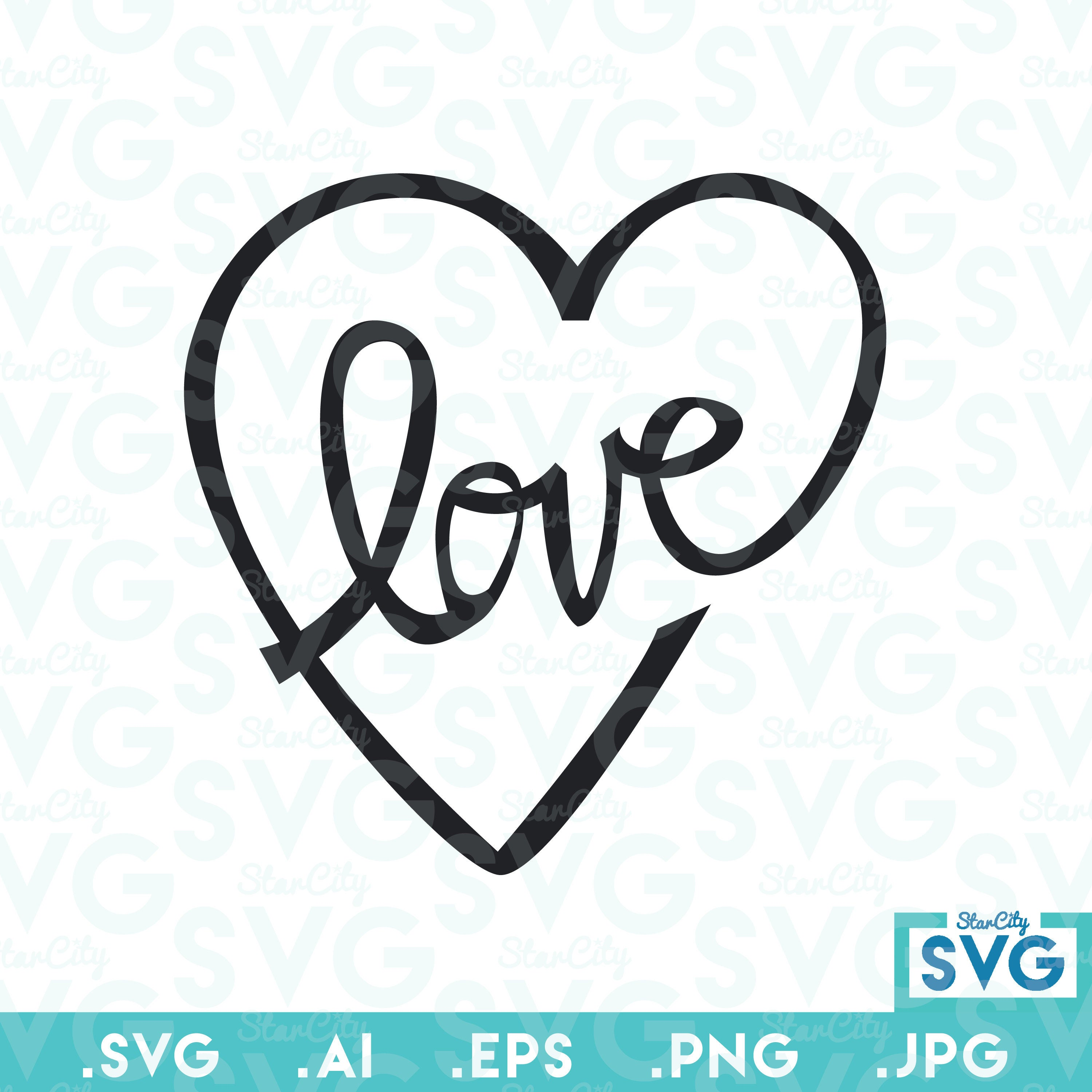 Download Love Vector file, Vector cutting file, SVG cutting file ...
