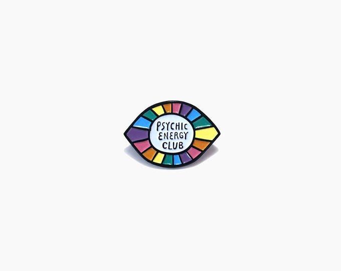 Psychic Energy Club Enamel Pin