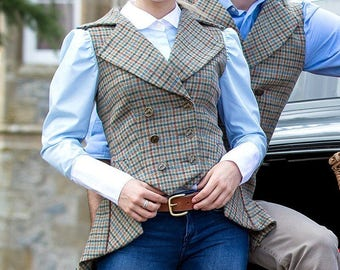 Lady Mary Waistcoat (Aberfeldy Tweed)