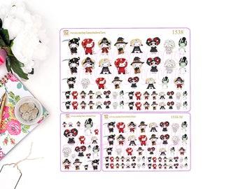 HALLOWEEN UNICORN COLLECTION -  Unicorns, Stickers, Unicorn Stickers, planner stickers, Kawaii Stickers, Halloween Stickers, Halloween