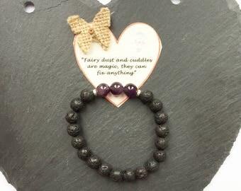 Essential Oil Diffuser Bracelet, Diffuser Bracelet, Gemstone Bracelet, Chakra Bracelet, Reiki Bracelet, Reiki Jewellery, Lava Stone Bracelet