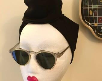 Vintage 1930s 1940s Gray Celluloid Sunglasses