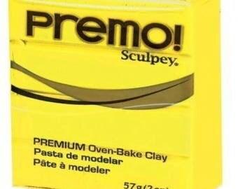 Clay PREMO Sculpey Yellow Sun 57g