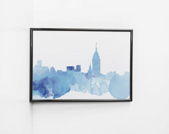 New York Watercolor | Art Print