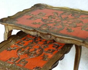 vintage coffee table | etsy