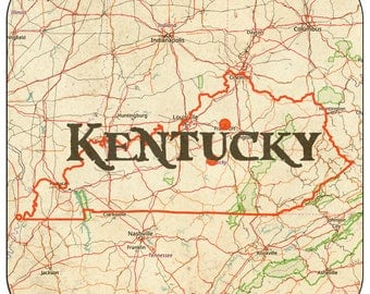Kentucky Coasters & Other Merchandise