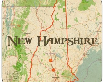 New Hampshire Coasters & Other Merchandise
