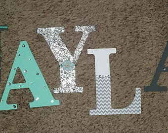 Girls bedazzled name