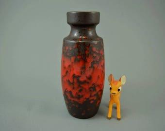 Vintage vase / Scheurich / 210 18 | West German Pottery | 60s