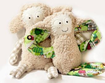 Lamb Sewing Pattern and Instructions, PDF