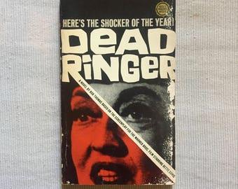 DEAD RINGER Paperback Novelization