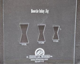 Walnut Bow Tie Template Kit