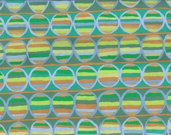 KAFFE FASSETT Heat wave green fabric