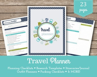 Travel Planner / Josie / Packing Lists / Vacation Planner / Holiday Planner / Travel Organizer / Travel Budget / Vacation Planning