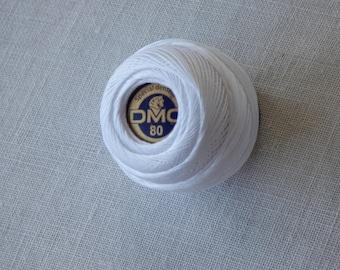 Lace cotton DMC B5200 collar n80 Pincushion 5gr