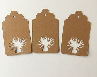 Sea Anemone Gift Tags