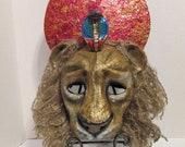Final payment for Sekhmet Lioness Egyptian Goddess Custom Mask