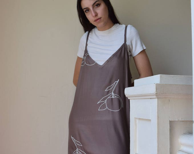 Addy Slip Dress | smoke | LAST ONES SALE.