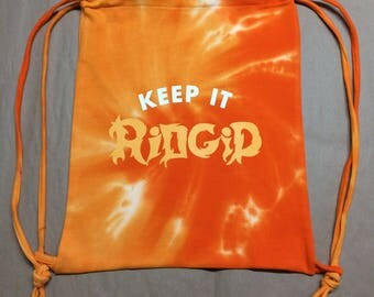 Slightly flawed-Keep It Ridgid Tie-Dyed Sport Bag (only 4 available)