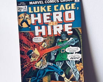 1970's Luke Cage Comic Book #9